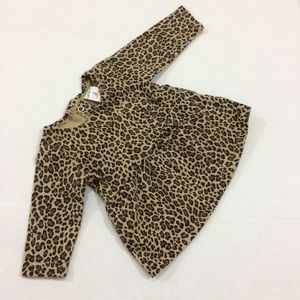 Carter's baby girl leopard print tunic